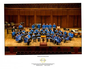 Also during my junior year of high school is when the band traveled to Washington, D. C. to perform at the Kennedy Center.